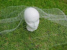 How to Make Chicken Wire Ghosts   eHow Chicken Wire Art, Chicken Wire Sculpture, Chicken Wire Crafts, Wire Art Sculpture, Abstract Sculpture, Bronze Sculpture, Wire Sculptures, Human Sculpture, Ghost Decoration