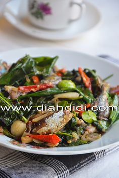 Diah Didi's Kitchen: Oseng Peda & Daun So