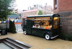 Old school coffee cart
