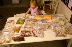 fun ideas for freezer meals