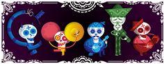 #Google #Doodle: Día de los Muertos 2012 (Tag der Toten - Mexiko)