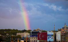 Rainbow after the rain by bozukkadraj. @go4fotos