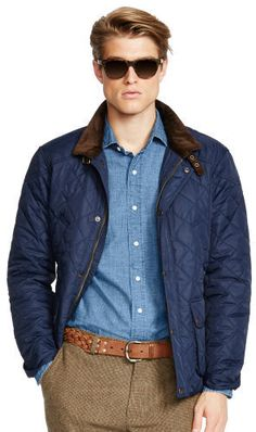 Big & Tall Polo Ralph Lauren Quilted Bomber Jacket