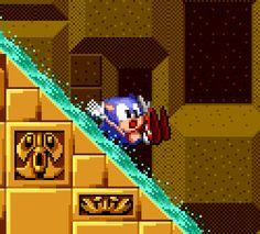 vgjunk: Sonic the Hedgehog, Genesis / Megadrive.