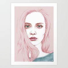 Bubblegum Art Print by Laura O'Connor - Pigment Prints NZ Art Prints, Art Framing Design Prints, Posters & NZ Design Gifts