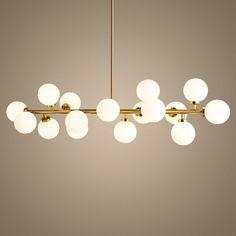 Kitchen Pendant Lighting, Pendant Light Fixtures, Chandelier Lighting, Pendant Lamp, Chandelier Creative, Pendant Lights, Interior Lighting, Modern Lighting, Gold Rooms