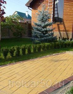 "Тротуарная плитка ""БРУСЧАТКА"" вибропрессованная 200х100х80 (желтая), фото 2"