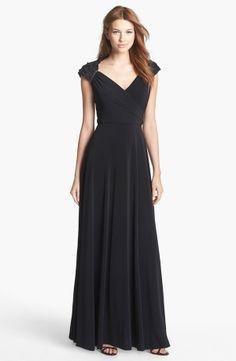 Patra 'Queen Anne' Ruffle Detail Jersey Dress | Nordstrom