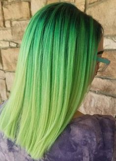 Like all other top hair colors green has also become one of the famous choice among fashionable and bold women. Just because of its coolest looks and attractive shades women always like to wear it. See here, we have compiled a list of latest green hair colors to wear in year 2018.