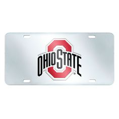 Ohio State Buckeyes NCAA License Plate-Inlaid