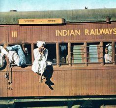 by train