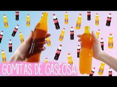 Como hacer gomitas de Fanta y Coca Cola - Tutoriales Belen - YouTube