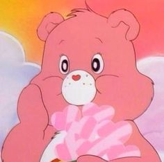 Cartoon, pink, and care bears image Aesthetic Images, Aesthetic Collage, Pink Aesthetic, Aesthetic Anime, Aesthetic Wallpapers, Retro Cartoons, Cartoon Icons, Vintage Cartoon, Cartoon Characters 90s