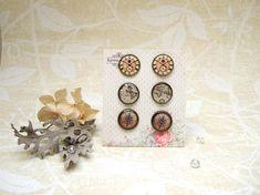Resin Earrings Post Earrings Stud Earrings Clock Face Earrings