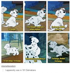 Rollie from 101 Dalmatians.