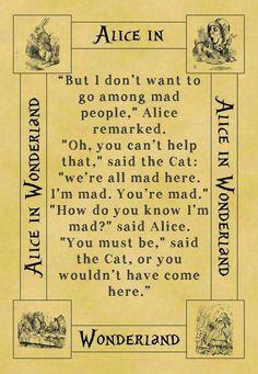 ~Alice in Wonderland