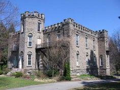 Warner Castle, Highland Park -- Gina's Senior pics were taken here....