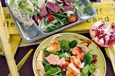 Das Rezept für Wildlachs mit Spinatsalat mit allen nötigen Zutaten und der einfachsten Zubereitung - gesund kochen mit FIT FOR FUN