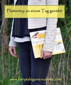 Flattertop Nähen Selbstgenäht DIY Mode Buchrezension Chice Sommerkleidung Nähblog Nähbuch Blog Fairy Tale Gone Realistic