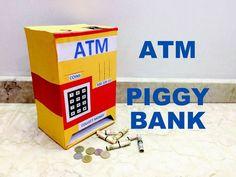 How to make Piggy Bank ATM machine at home