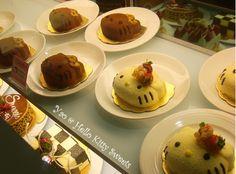IN TAIWAN SANRIO THEME RESTAURANT CUTE COOKING CAT CAKES  Cute