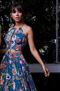 Short Semi Formal Dresses, Long Summer Dresses, Sexy Dresses, Fashion Dresses, Girls Dresses, Vestido Maxi Floral, Vestidos Sexy, Mode Style, Designer Dresses