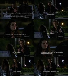 Just rewatched this episode of switched at birth, hate this moment, I miss them together