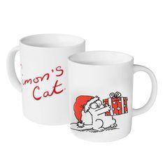 gattosa tazza natalizia Simon's Cat   www.gattosi.com