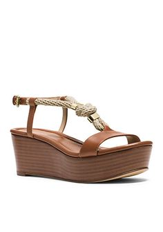 MICHAEL Michael Kors Holly Wedge Sandal