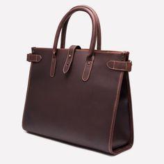 Ettinger London - Luxury Leather Goods - Pursuits Havana Chelsea Leather Tote