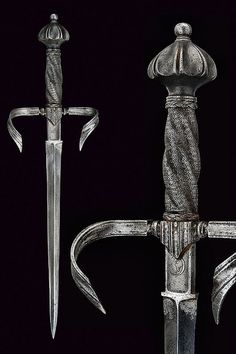 A left hand dagger, Germany, 16th century.