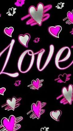 Cocoppa Wallpaper, Neon Wallpaper, Heart Wallpaper, Locked Wallpaper, Cellphone Wallpaper, Wallpaper Backgrounds, Pretty Backgrounds, Pretty Wallpapers, Heart Pictures