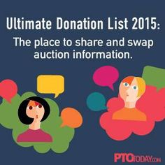 If you're planning a spring auction, you may be feeling a little overloaded right now. Who wouldn't? It's a huge job.We suggest you head over to the Ultimate Donation List, our Message Board thread dedicated to auction planning, tips, and ideas. The beauty of the Ultimate Donation List is it driven by volunteers who are running auctions. So you can...
