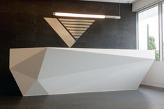 Reception Desk // GMD Architectural Joinery / Holly Rickard for Watson Young Architects