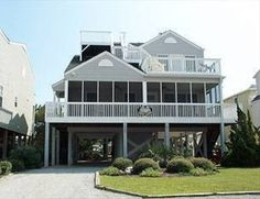 "Weather getting you down? Well consider the change to ""Linger Longer"" at this beach vacation home. Featuring a bright decor and a short walk to put your toes in the sand, a few days in this home will soothe your winter woes. Contact Sunset Properties for more information! Sunset Beach Vacation Rental   House 