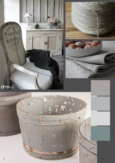 White to Gray, French Decorating from The Paper Mulberry