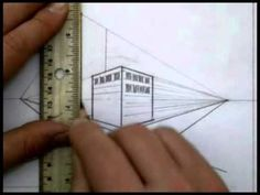 ▶ 2 Point Perspective Part 2 - YouTube