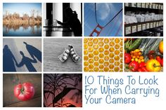 10 Things To Look For While Carrying Your Camera