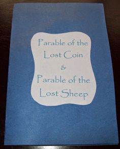 April's Homemaking: Parable of the Lost Coin and Lost Sheep Lesson, Craft, and Games