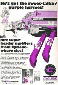Retronaut - Hes got the sweet-talkin purple hornies!
