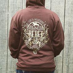 Firefly Hoodie // Serenity  Hooded Sweatshirt // Browncoat Rebel // Hand Screen Printed // Gold Ink // Available In Plus Sizes