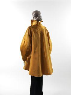 Evening coat Designer: Charles James (American, born Great Britain, 1906–1978) Date: 1947 Culture: American Medium: silk