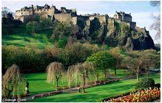 Edinburgh Castle Scotland Travel Poster 11x17                                                                                                                                                                                 More
