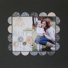 Your design possibilities are endless with the Place 'n' Punch! Create designs anywhere on your scrapbook paper, and use the punched-out shape to decorate. Adhere with Foam Squares to create even more depth to your scrapbook page or project.