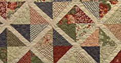 The Lattice Quilt is great for so many reasons: it's simple to make, a great way to display your favorite fabrics, and it looks amazing!