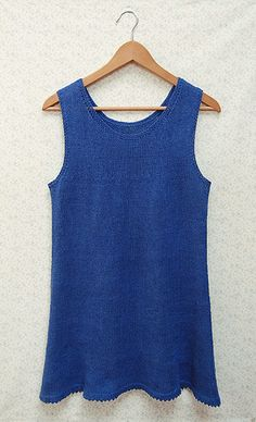 Whit's Knits: Linen Tunic by the purl bee, via Flickr