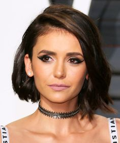 18 Beauty Looks You Have to See From the Oscars After-Party - Nina Dobrev from InStyle.com