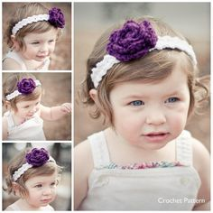 Another cute crochet headband pattern