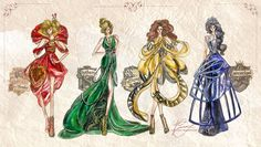 Hogwarts Houses are actually fabulous.