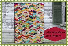 Indie Vibrations Quilt Pattern